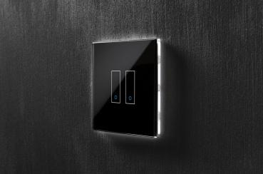 iotty Wi-Fi Smart Switch Model E, 2 Taster, Smarter Lichtschalter